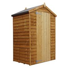 Mercia 4ft x 3ft Overlap Windowless Shed