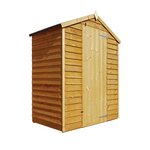 Mercia 5ft x 3ft Overlap Windowless Shed