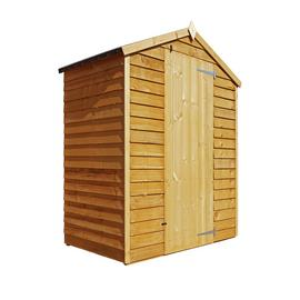 Mercia Wooden 5 x 3ft Overlap Windowless Shed