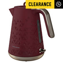 Morphy Richards 108253 Prism Jug Kettle - Merlot