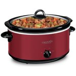 more details on Crock-Pot 5.7L Red Slow Cooker CSC029.