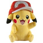 more details on Pokemon Pikachu with Ash's Hat Large Plush.