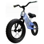 more details on Ride Phantom 12 Inch Clear Blue Balance Bike