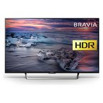 more details on Sony Bravia KDL43WE753BU 43 Inch Smart Full HD TV with HDR.