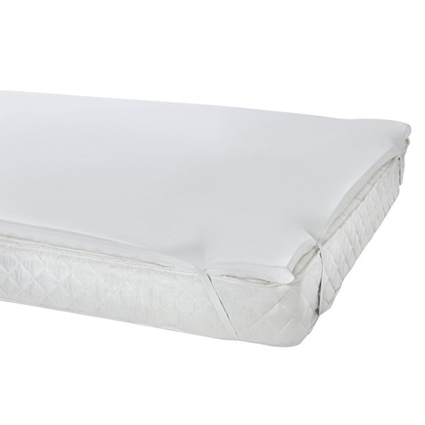 Memory Foam Mattress Topper.Buy Argos Home 5cm Memory Foam Mattress Topper Single Mattress Toppers Argos
