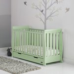 more details on Obaby Stamford Pistachio Mini Cot Bed