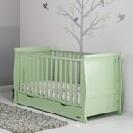 more details on Obaby Stamford Pistachio Cot Bed
