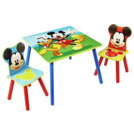 Disney Mickey Mouse Table & 2 Chairs