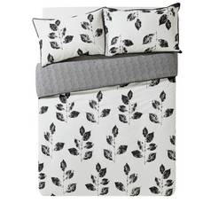 Argos Home Artisan Leaf Bedding Set - Kingsize