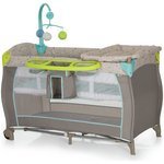more details on Hauck BabyCenter Multidots Travel Cot