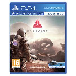 Farpoint PS VR Game (PS4)