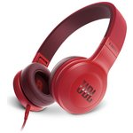 JBL E35 On-Ear Headphones - Red