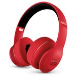 JBL Everest 300 Wireless Over-Ear Headphones - Red