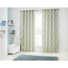 Julian Charles Eden Lined Curtains - 112x228cm - Duck Egg