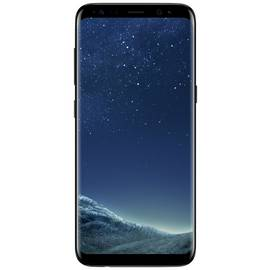 SIM Free Samsung Galaxy S8 64GB Mobile Phone- Midnight Black