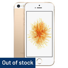 SIM Free iPhone SE 32GB Mobile Phone - Gold