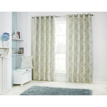 Julian Charles Eden Lined Curtains - 112x137cm - Duck Egg