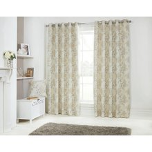 Julian Charles Eden Lined Curtains - 112x137cm - Gold
