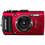 more details on Olympus Tough TG-4 16MP Camera - Red.
