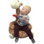 more details on Plush Brown Giraffe Chair.