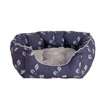 Woodland Large Oval Pet Bed