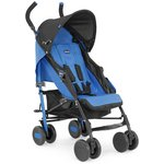 more details on Chicco Echo Complete Power Blue Stroller.