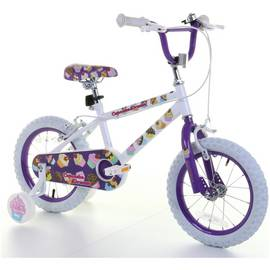 14 Inch Kids Bike - Cupcake Dreams