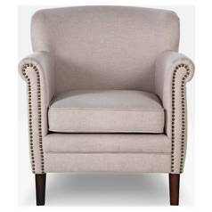 Argos Home Bella Fabric Chair - Natural