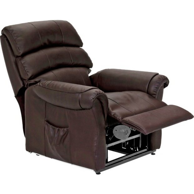 Buy Home Warwick Powerlift Leather Recliner Chair