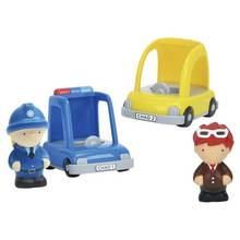 Chad Valley Tots Town Tots and Cars - 2 Pack