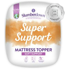 Slumberdown Support 4cm Mattress Topper - Single