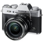 more details on Fujifilm X-T20 18-55mm Lense Compact System Camera - Silver