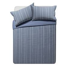 Heart of House Falkirk Stripe Bedding Set - Kingsize