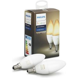 Philips Hue White Ambience Candle Bulbs Twin pack