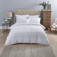 Sainsbury's Home Luxury White Waffle Bedding Set - Kingsize