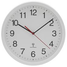 HOME Radio Controlled Wall Clock - White