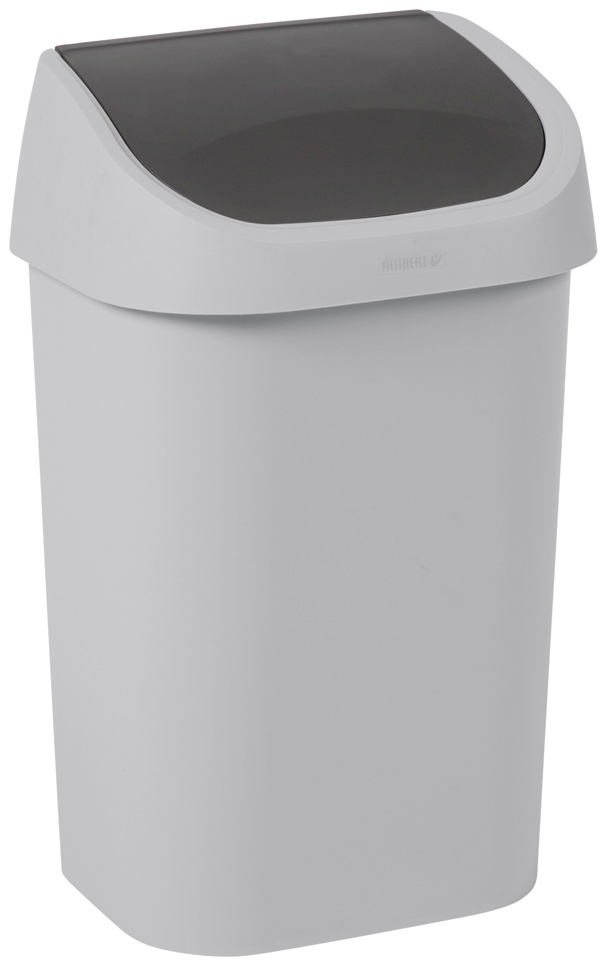 Curver Mistral 25L Small Swing Bin   Grey