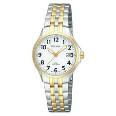 Pulsar Ladies' Two Tone Easy Read Watch