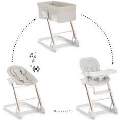 iCoo Grow With Me 123 Diamond Beige Travel Cot