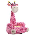 more details on Plush Pink Giraffe Chair.