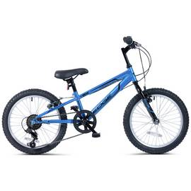 Piranha 18 Inch Edge 6 Speed Kids Mountain Bike