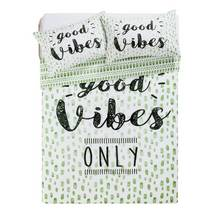 HOME Good Vibes Bedding Set - Double