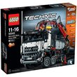 more details on LEGO Technic Mercedes-Benz Arocs - 42043.