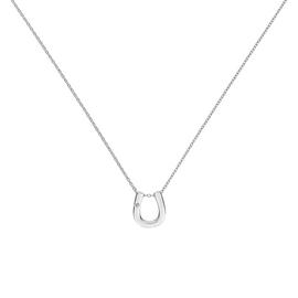 Accents by Hot Diamonds Horseshoe Pendant 18 Inch Necklace