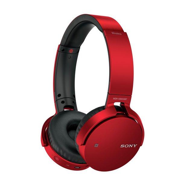 b9b452cc684 Buy Sony MDR-XB650BT On-Ear Headphones - Red | Limited stock ...