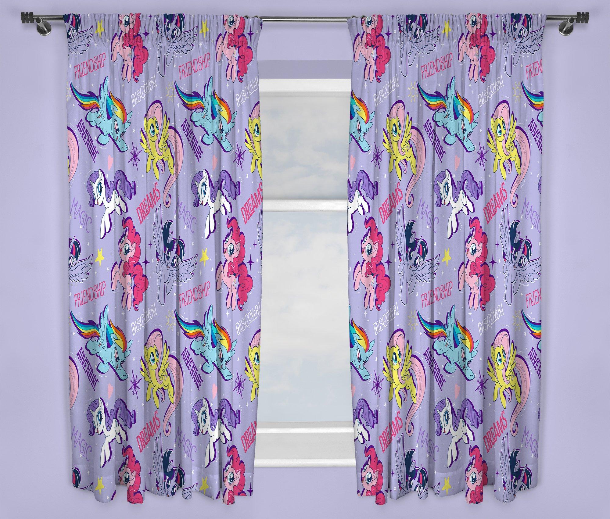 Attractive My Little Pony Adventure Curtains   168x137cm