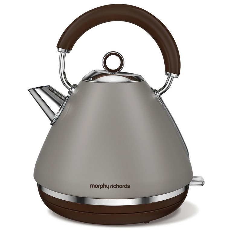 Morphy Richards Accents Jug Kettle Sand Grey 30 40