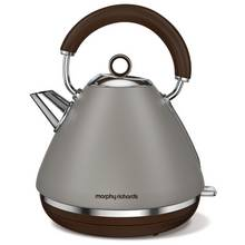 Morphy Richards Accents 102102 Pyramid Kettle - Pebble