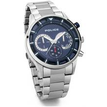 Police Men's Driver Stainless Steel Bracelet Watch