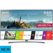 LG 55UJ670V 55 Inch Smart 4K Ultra HD TV with HDR